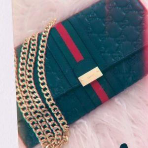 Green Gucci Bag